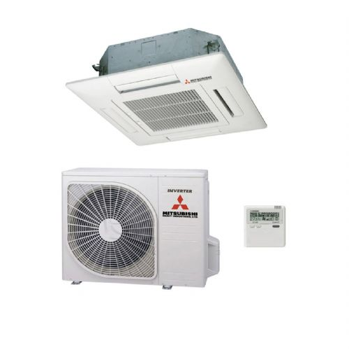 Mitsubishi Heavy Industries Air Conditioning FDT71VF1 Cassette Inverter Heat Pump 7.1Kw/25000Btu A 240V~50Hz